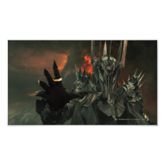 Sauron wth Hand Poster