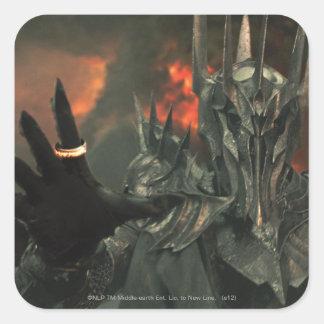 Sauron wth Hand Square Sticker