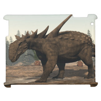 Sauropelta dinosaur - 3D render Case For The iPad 2 3 4