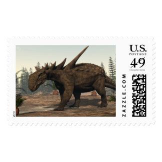 Sauropelta dinosaur - 3D render Postage