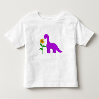 Sauropod and Sunflower Toddler T-shirt