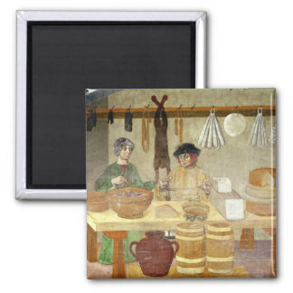 Sausage and Cheese Sellers Magnet
