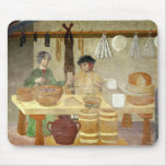 Sausage and Cheese Sellers Mouse Pad