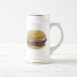 Sausage Biscuit Beer Stein