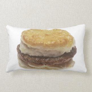 Sausage Biscuit Lumbar Pillow