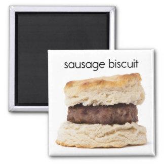 Sausage Biscuit Refrigerator Magnet