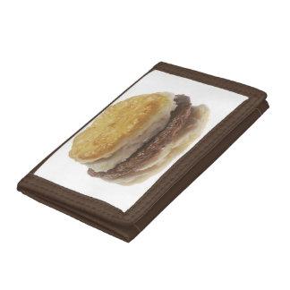 Sausage Biscuit Tri-fold Wallet