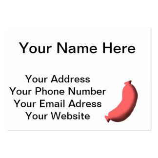 Sausage Business Card Templates