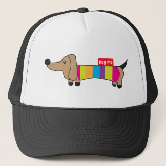 Sausage Dog - Hug Me Trucker Hat