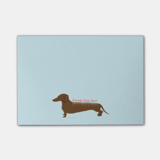 Sausage Dogs Rule Post-it Notes