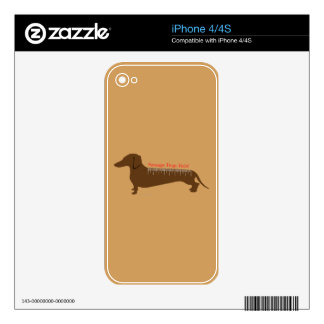 Sausage Dogs Rule Skins For iPhone 4
