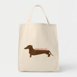 Sausage Dogs Rule Tote Bag