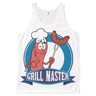 Sausage Grill Master All-Over-Print Tank Top
