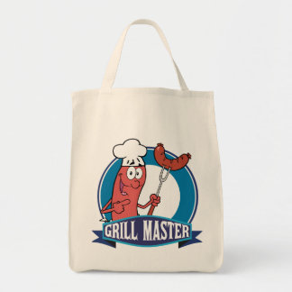 Sausage Grill Master Tote Bag