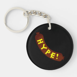 Sausage Hype Double Sided Keyring