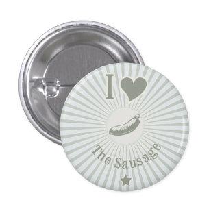 Sausage Lover 1 Inch Round Button