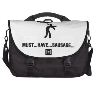 Sausage Lover Laptop Messenger Bag
