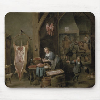 Sausage-making, 1651 mouse pad