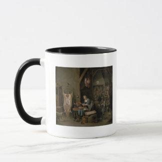 Sausage-making, 1651 mug
