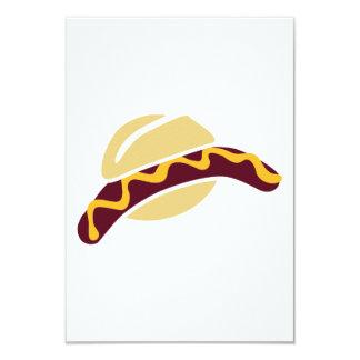 Sausage mustard roll custom invite