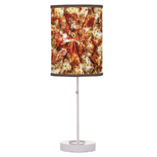 Sausage Pepperoni Pizza Desk Lamp