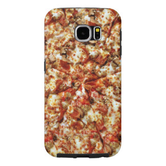 Sausage Pepperoni Pizza Samsung Galaxy S6 Case