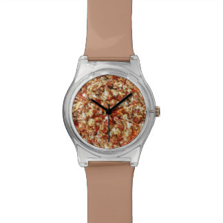 Sausage Pepperoni Pizza Wrist Watch