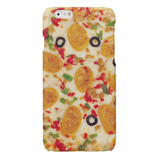Sausage Pizza Glossy iPhone 6 Case