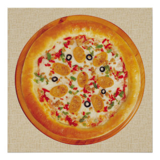 Sausage Pizza Poster