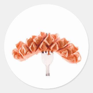 Sausage Round Stickers