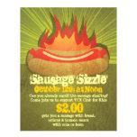 "Sausage Sizzle Party 8.5"" X 11"" Flyer"