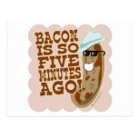 Sausage Vs. Bacon Postcard