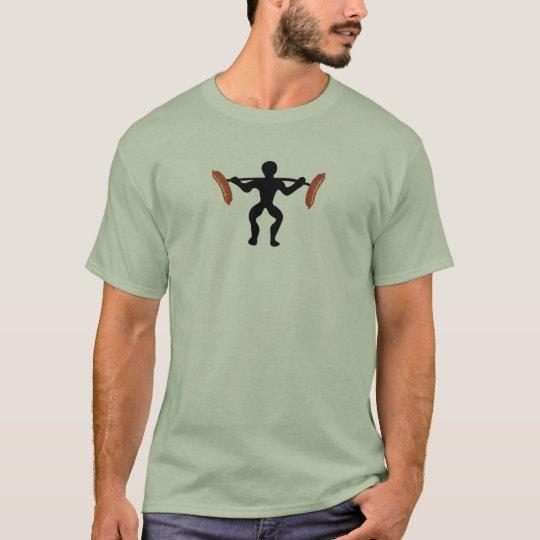Sausage weightlifting T-Shirt