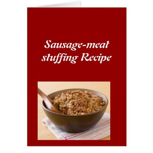 Sausagemeat stuffing Recipe Card