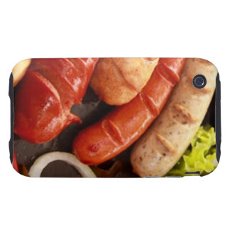 Sausages Tough iPhone 3 Covers