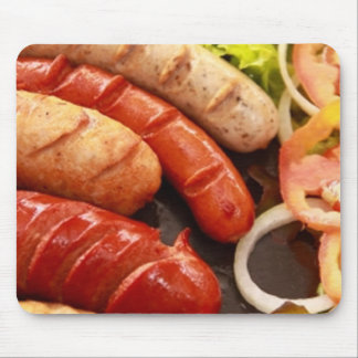 Sausages Mouse Pad
