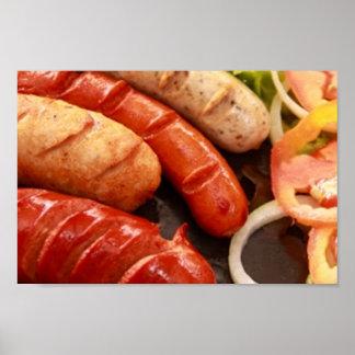 Sausages Poster