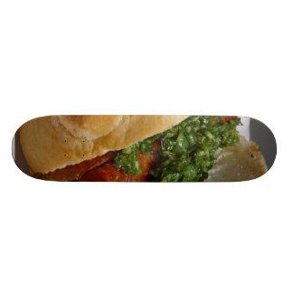 Sausages Rolls Chimichurri Sauces Skate Board Decks