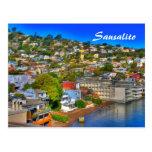 Sausalito Card Postcard