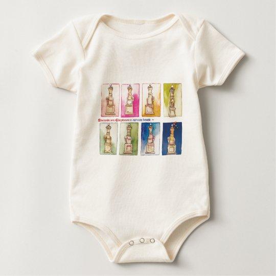Sausalito Elephants.jpg Baby Bodysuit