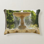 Sausalito Fountain California Travel Photography Accent Pillow