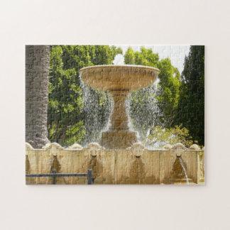 Sausalito Fountain California Travel Photography Jigsaw Puzzle