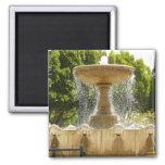 Sausalito Fountain California Travel Photography Magnet