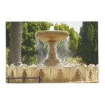 Sausalito Fountain California Travel Photography Placemat