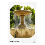 Sausalito Fountain California Travel Photography Wall Sticker