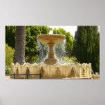 Sausalito Fountain Print