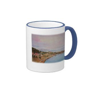 Sausalito Ringer Coffee Mug