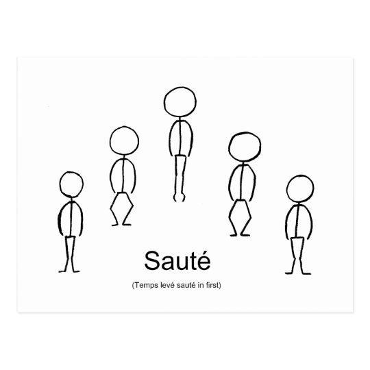 Saute Postcard