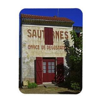 Sauternes Office de Degustation (degustación de vi Imanes De Vinilo