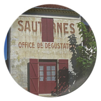 Sauternes Office de Degustation (Wine Tasting Plate